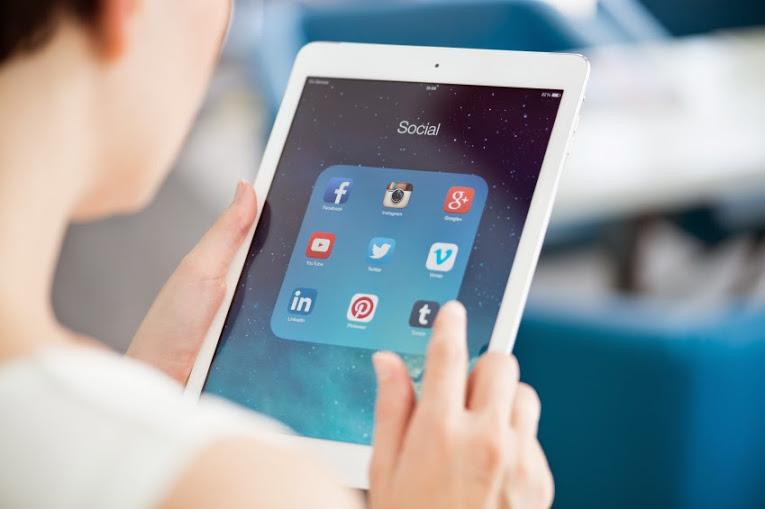 redes sociales a
