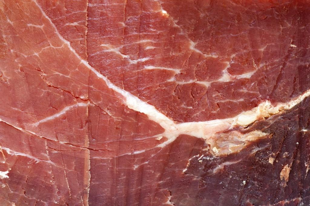 17387009 - serrano ham - dried meat pork